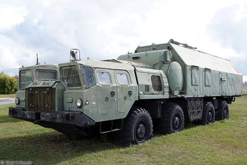 Машина дизельная электростанция 15Н1061М (15N1061M MDES power supply vehicle)