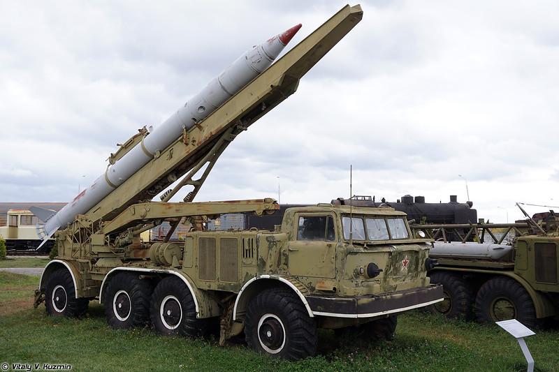 СПУ 9П113 ракетного комплекса 9К52 Луна-М (9P113 TEL 9K52 Luna-M)