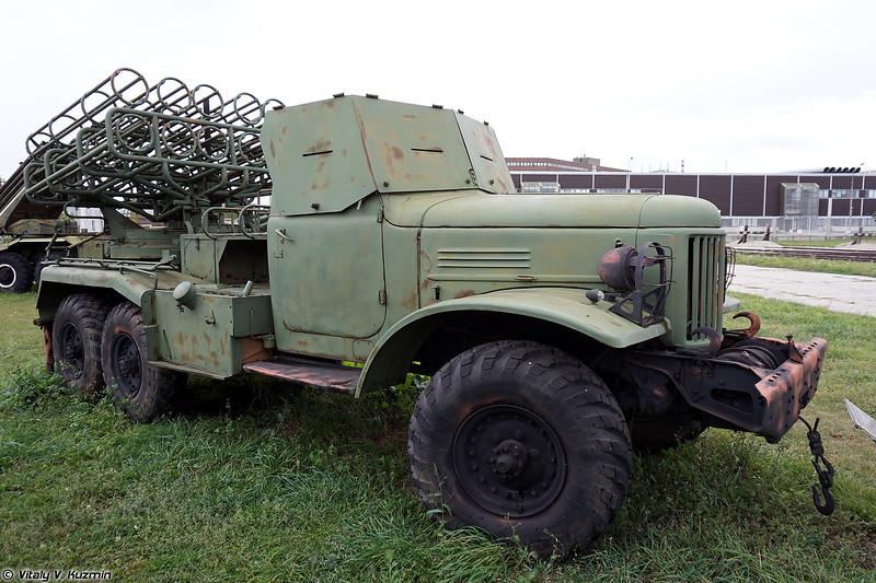 РСЗО БМ-24 (BM-24 MLRS)