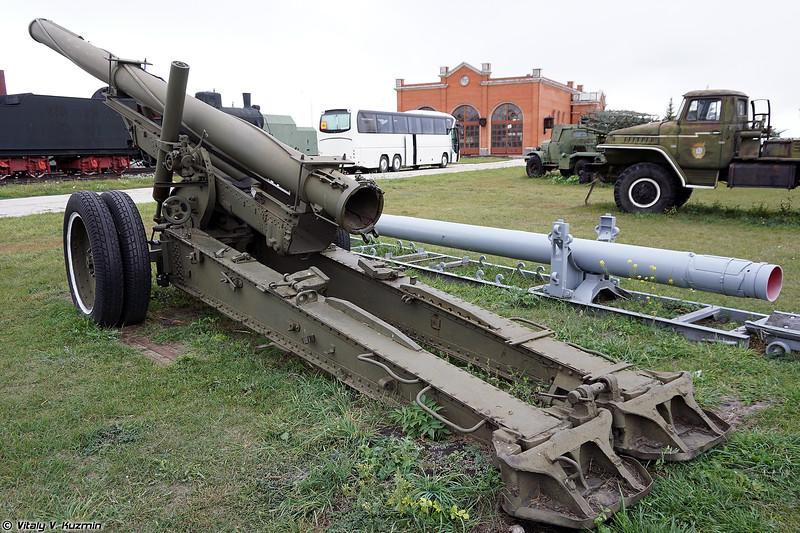 Установка для отстрела 300-мм снарядов РСЗО Смерч (Testing launcher for 300mm Smerch rockets)