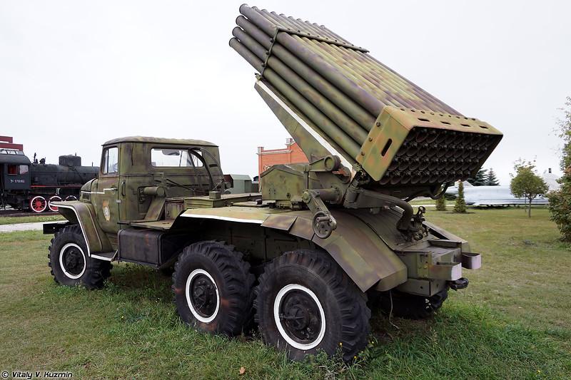 Боевая машина 2Б5 РСЗО Град (2B5 / BM-21 Grad MLRS)