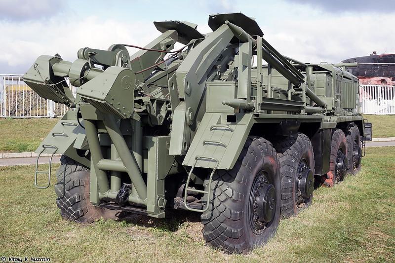 Колесный эвакуационный тягач тяжелый КЭТ-Т (KET-T recovery vehicle)