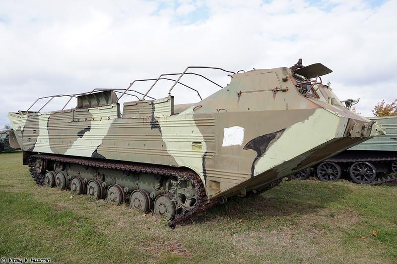 Плавающий транспортер ПТС-2 (PTS-2 amphibious transport)