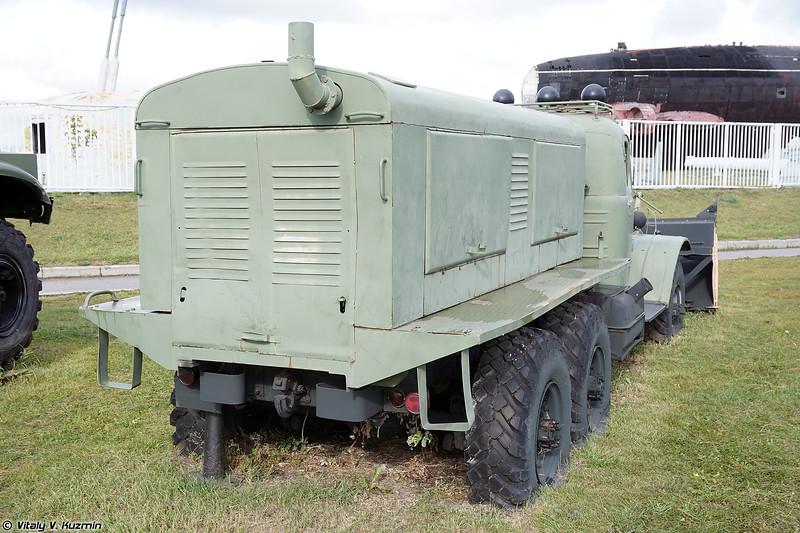 Шнекороторный снегоочиститель Д-470 (D-470 winter service vehicle)