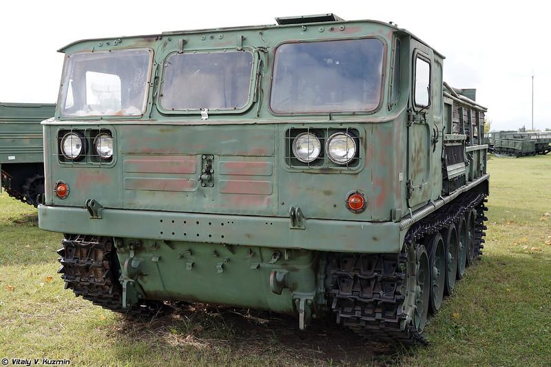Средний гусеничный эвакуационный тягач ГЭТ-С / ТГ-4 (GET-S / TG-4 recovery vehicle)