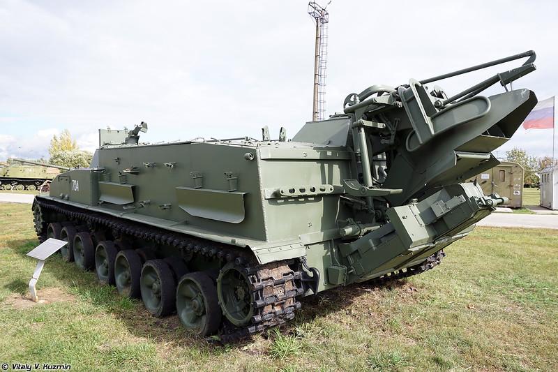 Гусеничный минный заградитель ГМЗ-1 (GMZ-1 minelayer)