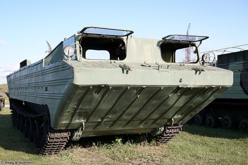 Плавающий транспортер ПТС-М (PTS-M amphibious transport)