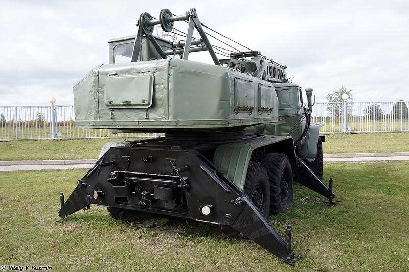 Автомобильный кран 8Т210 (8T210 autocrane)
