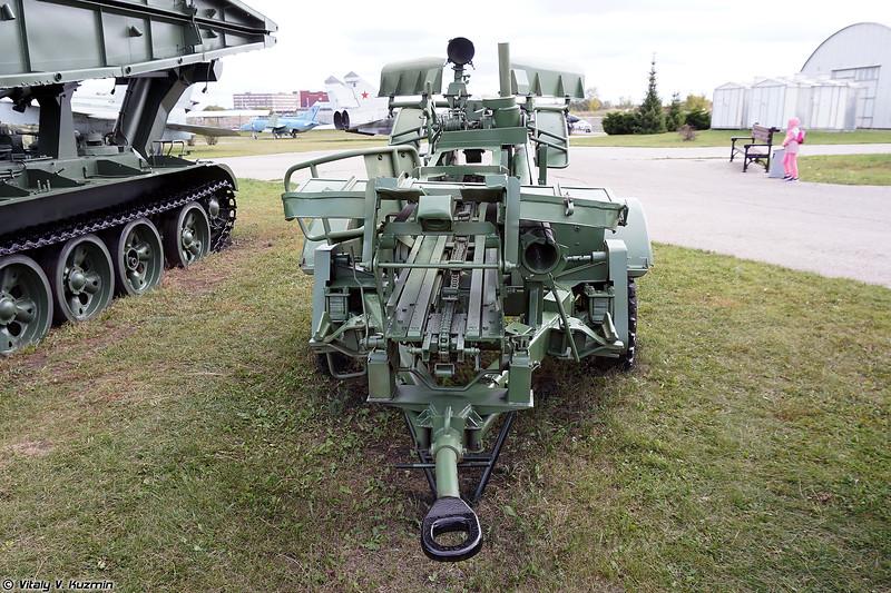 Прицепной минный заградитель ПМЗ-4 (PMZ-4 mine-laying trailer)