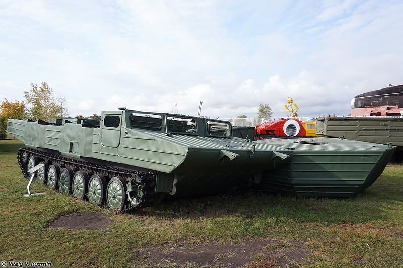 Гусеничный самоходный паром ГСП (GSP ferry vehicle)