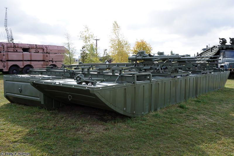 Комплект мостостроительных средств КМС-Э (KMS-E bridge construction system)