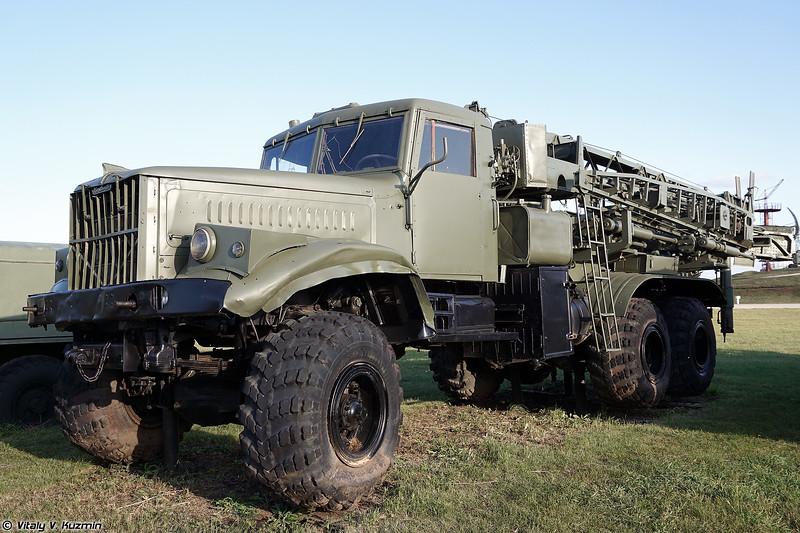 Установка строительства мостов УСМ (USM bridge construction vehicle)