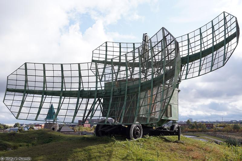 Кабина РЛС П-35 / 1РЛ110 (P-35 / 1RL110 radar)