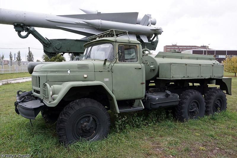 Авторазливочная станция АРС-14 (ARS-14 decontamination vehicle)