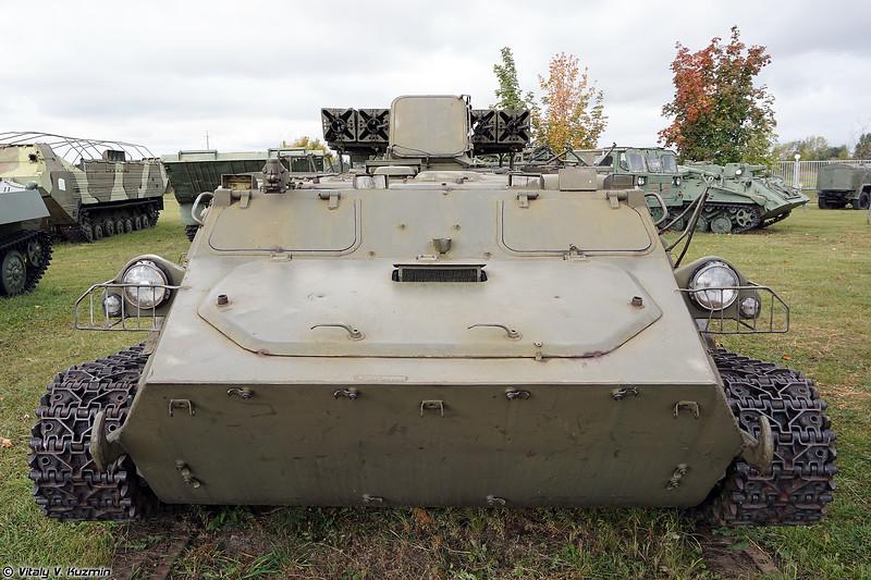 Боевая машина 9А34М ЗРК 9К35М Стрела-10М (9A34M TEL 9K35M Strela-10M)