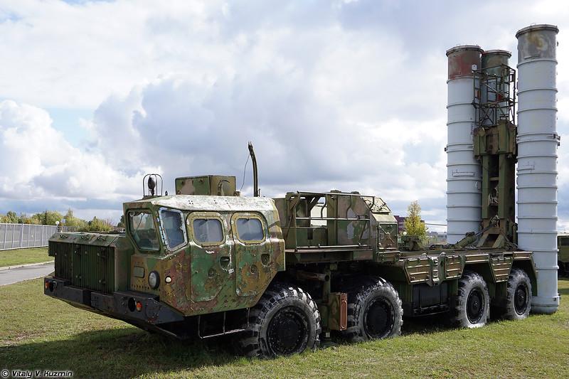 Пусковая установка 5П85Д ЗРС С-300ПС (5P85D TEL S-300PS)
