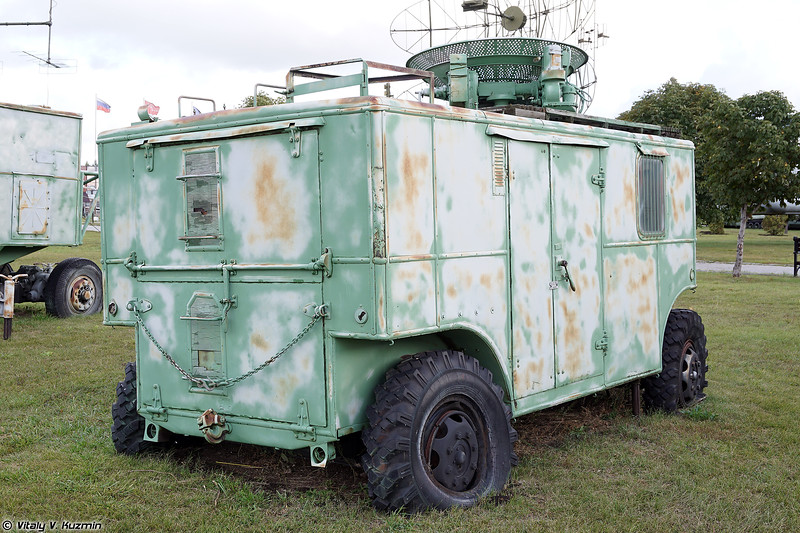 РЛС орудийной наводки СОН-9 (SON-9 radar)