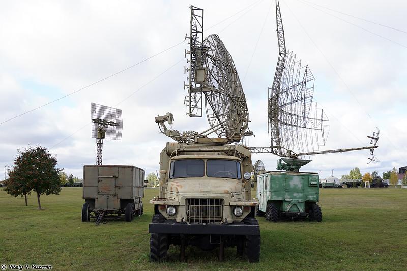 Наземный радиолокационный запросчик 1Л22 (1L22 interrogator)