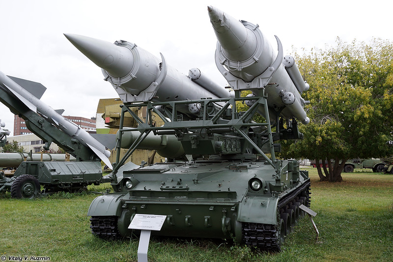 Пусковая установка 2П24 ЗРК 2К11 Круг (2P24 TEL 2K11 Krug)