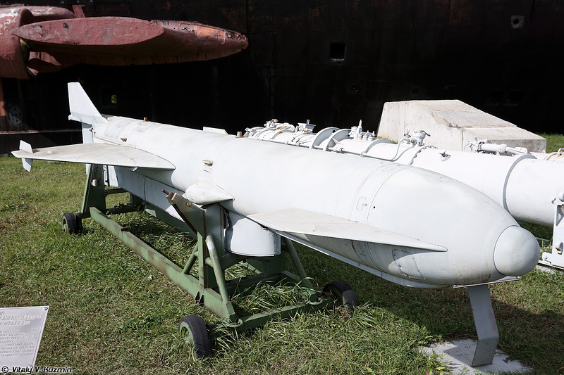 Противолодочная ракета 85РУ комплекса УРК-5 Раструб-Б (85RU anti-submarine missile from URK-5 Rastrub-B system)
