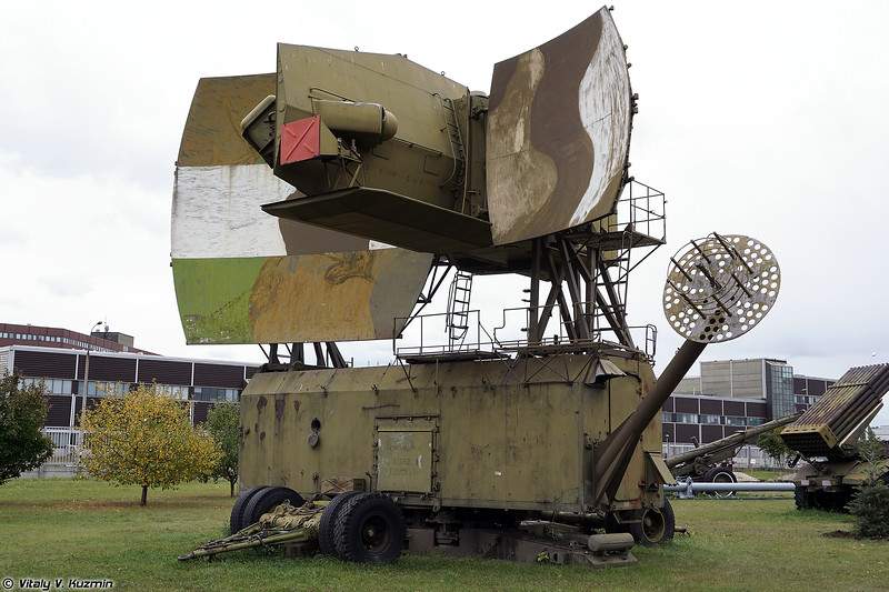 Радиолокатор подсвета цели 5Н62В (5N62V radar)