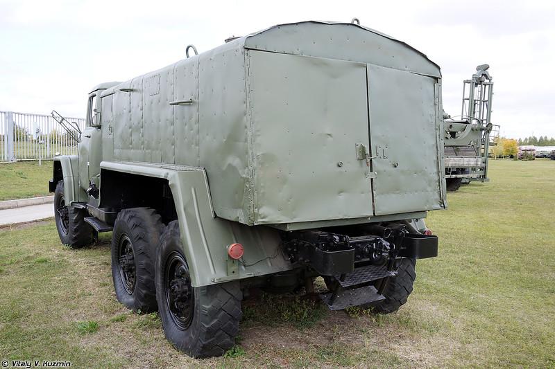 Обмывочно-нейтрализационная машина 8Т311М (8T311M decontamination vehicle)