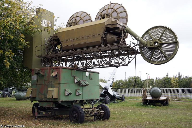 Станция наведения ракет РСН-75МВ (RSN-75MV radar)