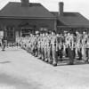 Territorials at Aylesbury Railway Station, Aug 9 1954
