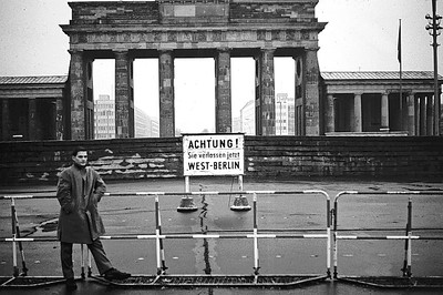 Translation:  Caution!  You are now leaving West Berlin