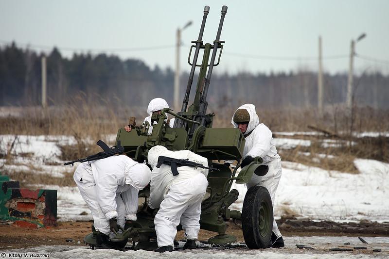 Расчет ЗУ-23-2 (ZU-23-2)
