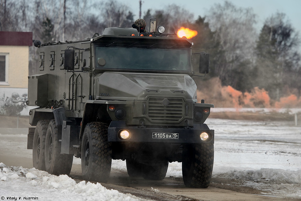 Урал-4320ВВ (Ural-4320VV from 604th Special Purpose Center Vityaz)