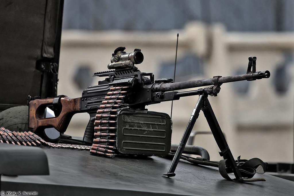 ПКМ (PKM Machinegun)