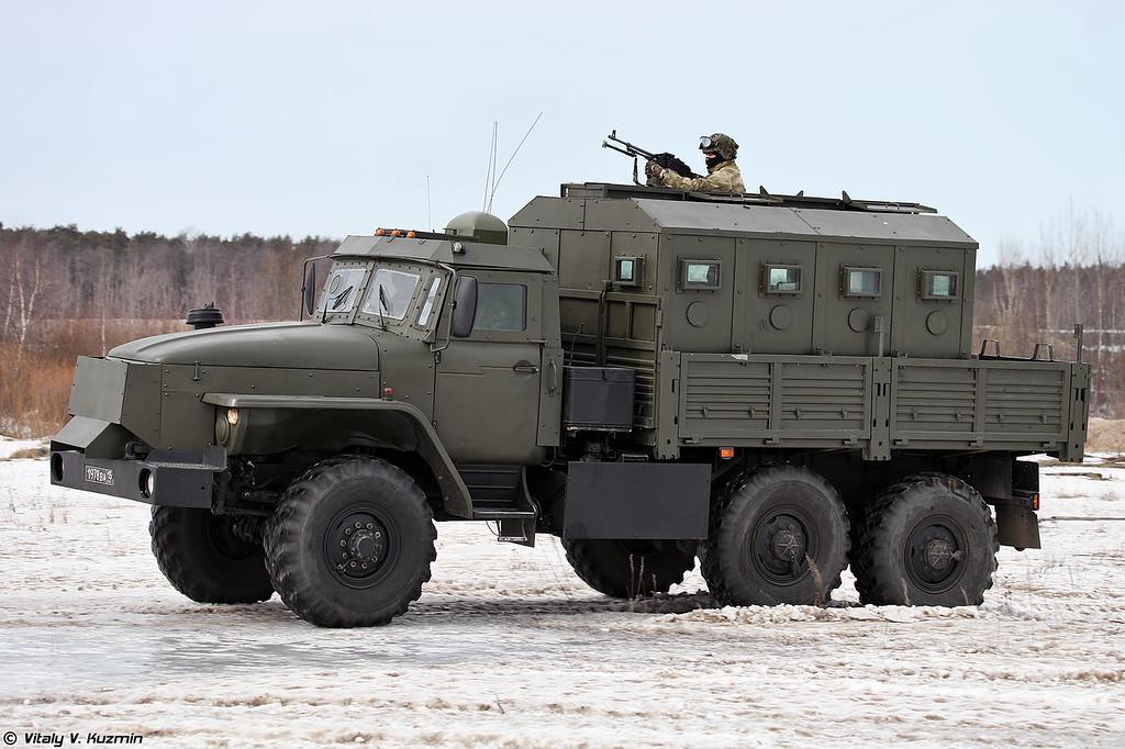 Урал-4320 Звезда-В (Ural-4320 Zvezda-V armored vehicle)