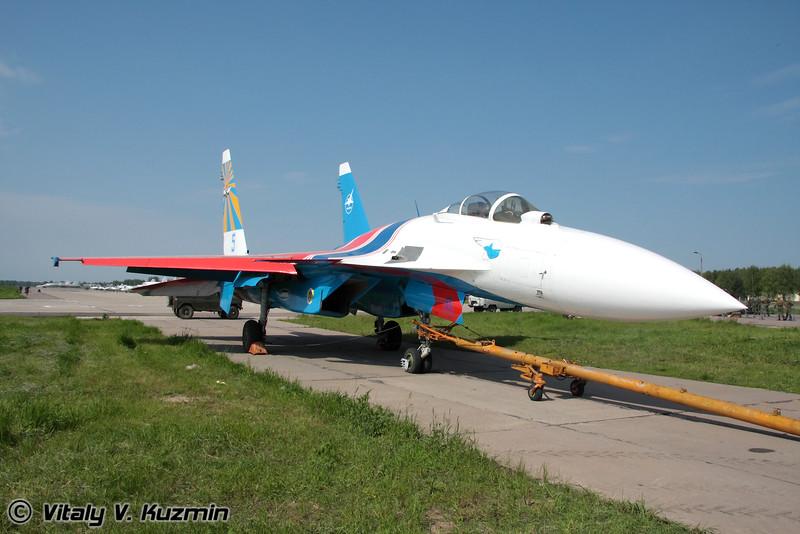 Су-35 (Su-35 Russian knights)