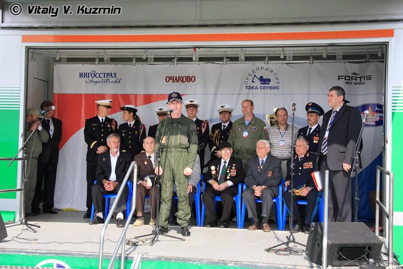 "Ветераны авиаполка ""Нормандия Неман"" (Normandie-Neman veterans)"