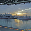 Sunrise over 32nd Street Naval Station