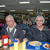 Gerry & Dee Arnett at Lunch in Wardroom