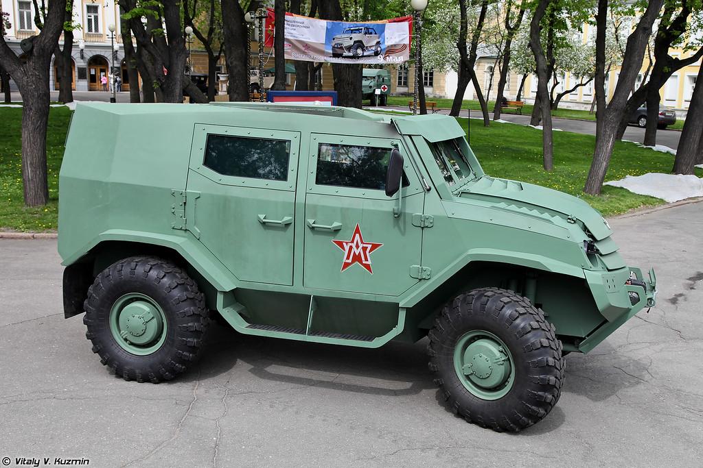 Базовый вариант бронеавтомобиля Торос (Basic variant of Toros armored vehicle)