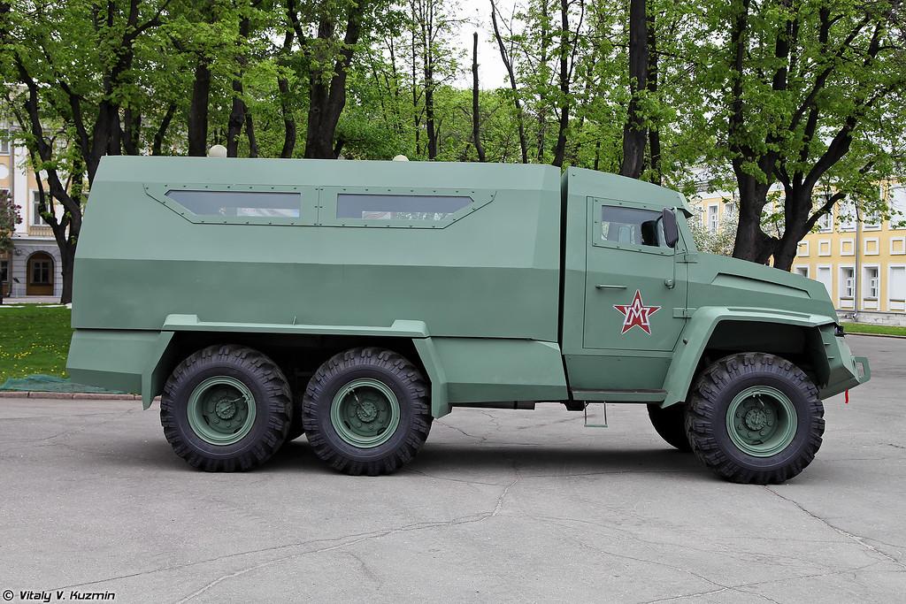 Бронеавтомобиль Колун 6х6 (Kolun 6x6 armored vehicle)