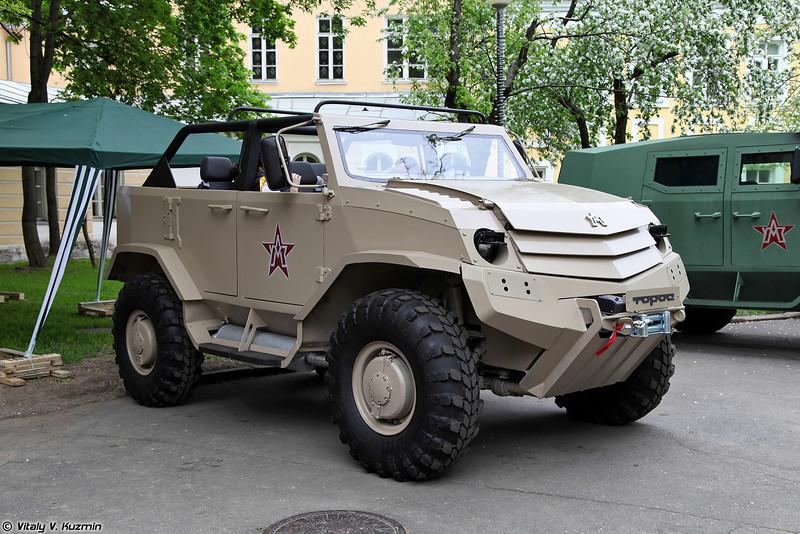 Бронеавтомобиль Торос командирский (Toros commander variant)