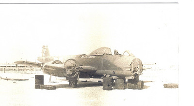 15 Gloster Meteor - in bits