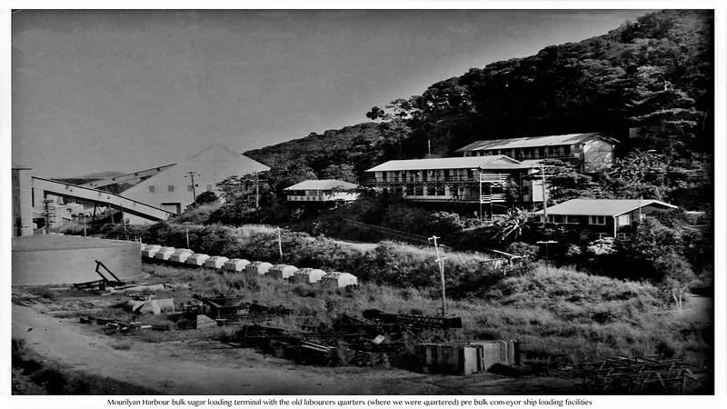 Mourilyan Harbour via Innisfail..Showing ex watersiders barracks