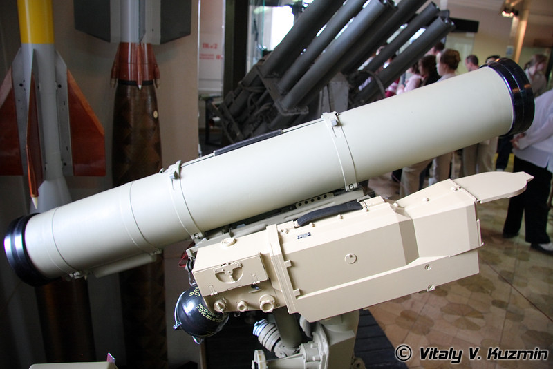 Корнет-Э (AT-14 Kornet-E anti-tank missile system)