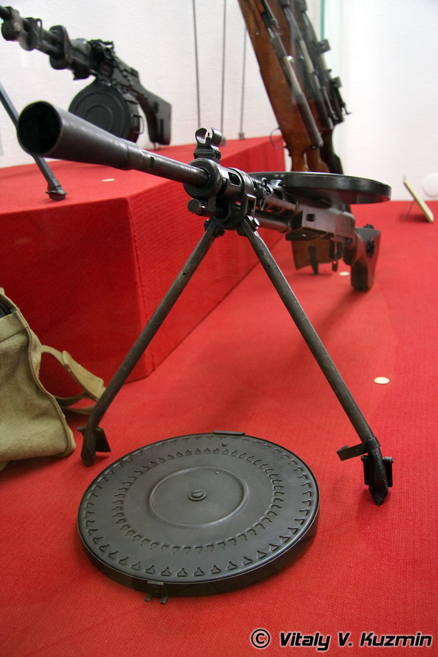 Пулемет Дегтярева (Degtyarev machinegun)