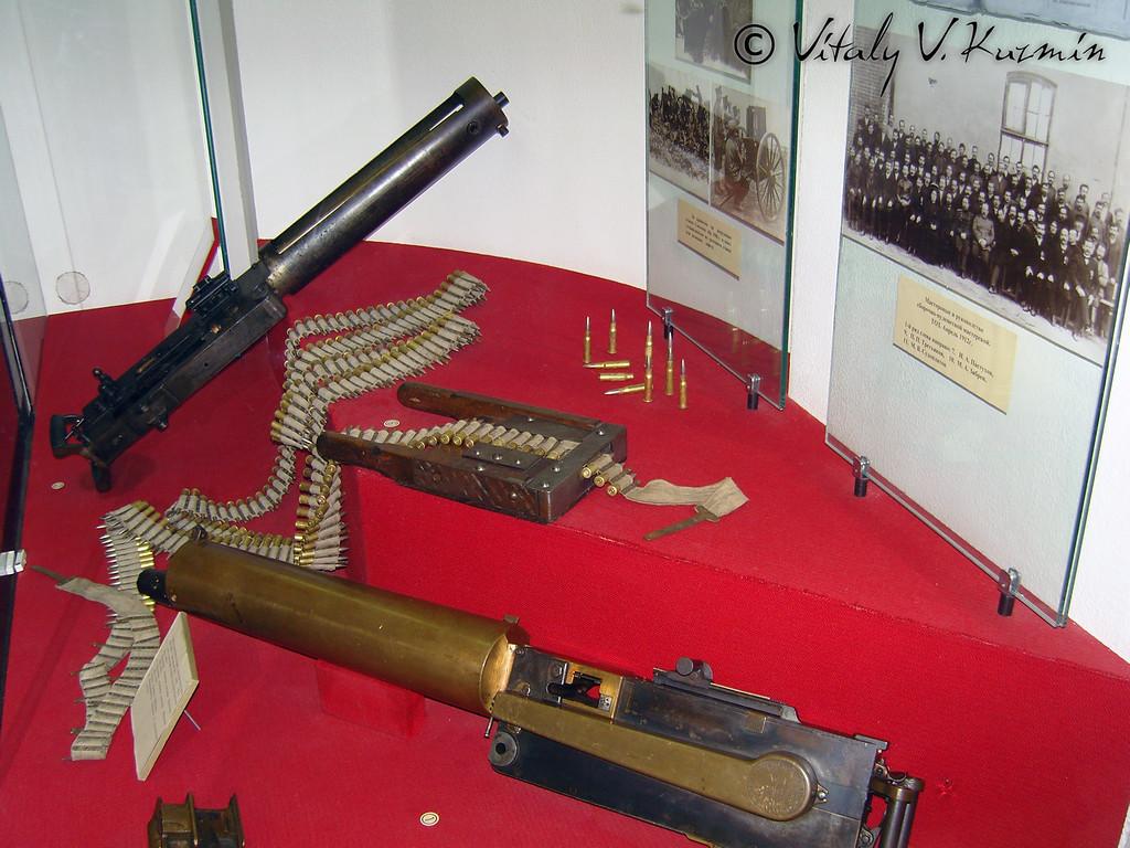 Первые станковые пулеметы (First machineguns)