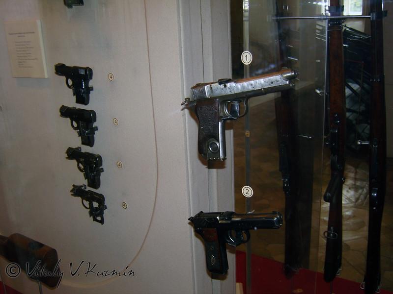 Пистолеты Прилуцкого обр. 1914 и 1927 годов (Prilutsky pistols 1914 and 1027 years models)
