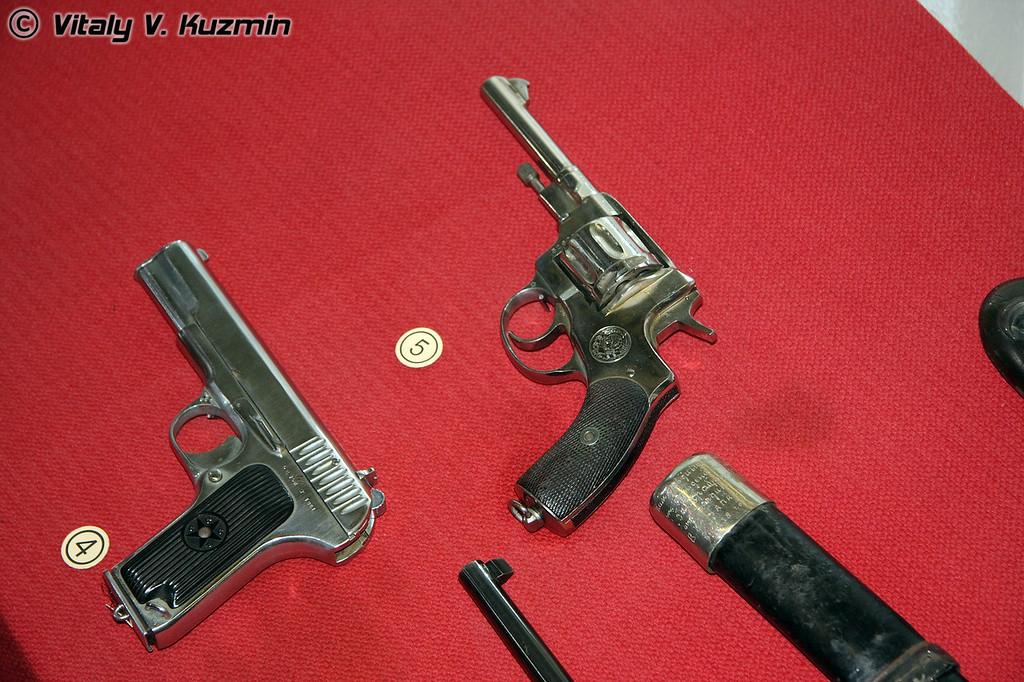 Револьвер системы Нагана и ТТ (Nagan and TT)