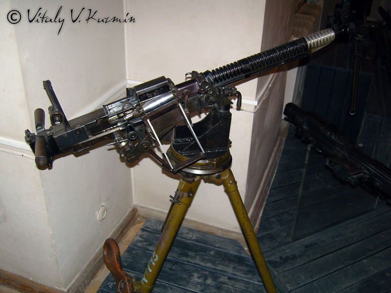 Станковый пулемет Силина (Silin machinegun)