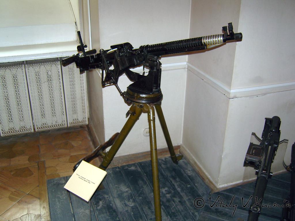 Станковый пулемет Силина (Silin machinegun)
