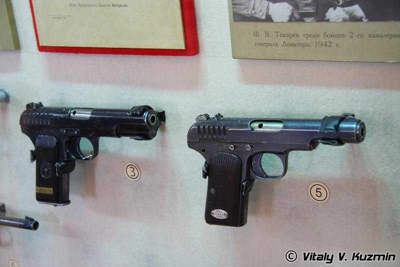 ТТ и опытный образец ТТ 1930г. (TT and experimental model TT 1930 year)